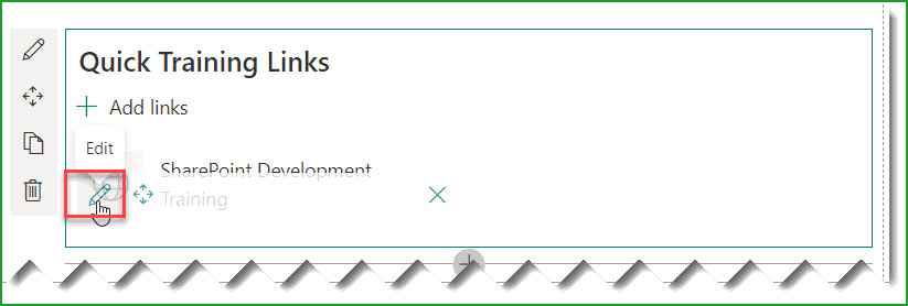how to use quick links web part in sharepoint