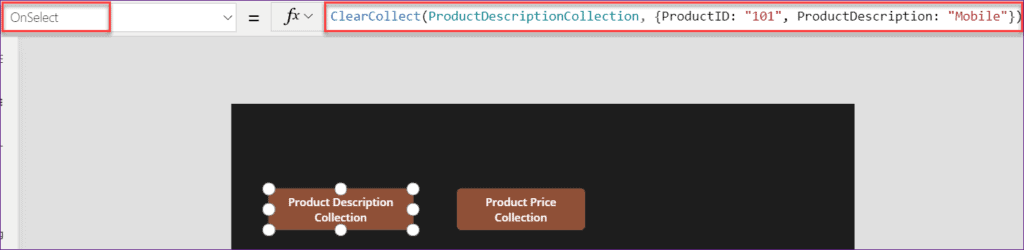 PowerApps Collection add column