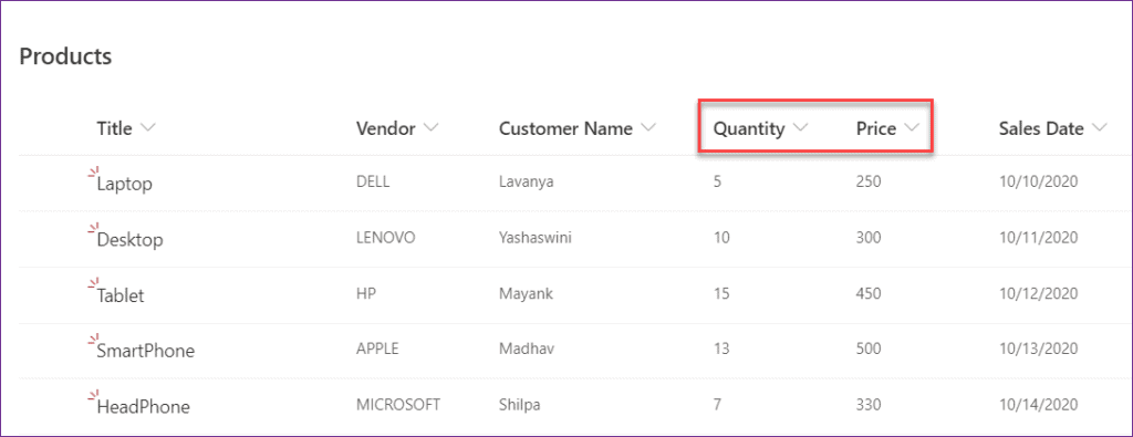 powerapps sum function