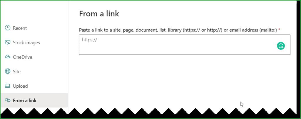 quick links web part sharepoint