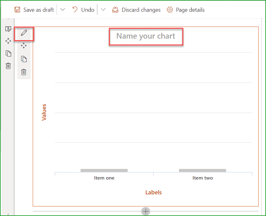 modern sharepoint chart web part