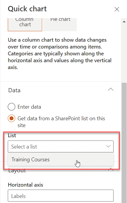 sharepoint online no list available on this site