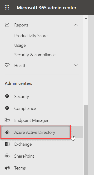 disable microsoft security defaults office 365