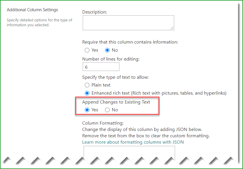 Add comments to classic SharePoint Online List Items
