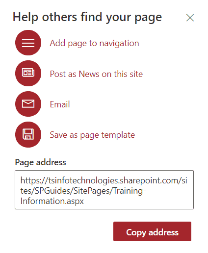 how to create a modern page in sharepoint 2019