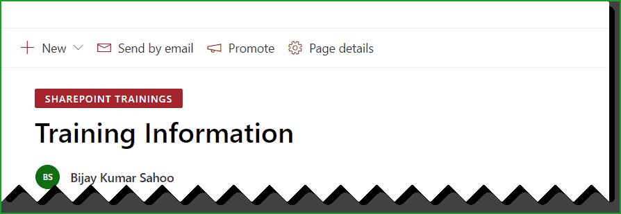 sharepoint online modern page remove header