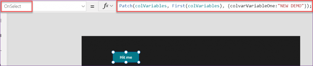 Power apps forall set variable