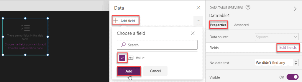 PowerApps ForAll Functions