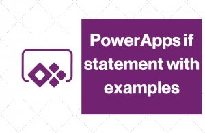 PowerApps if statement