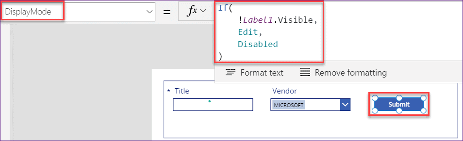 PowerApps remove characters from string