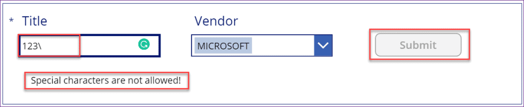 PowerApps remove characters from the string
