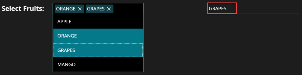 Powerapps forall Combobox selecteditem