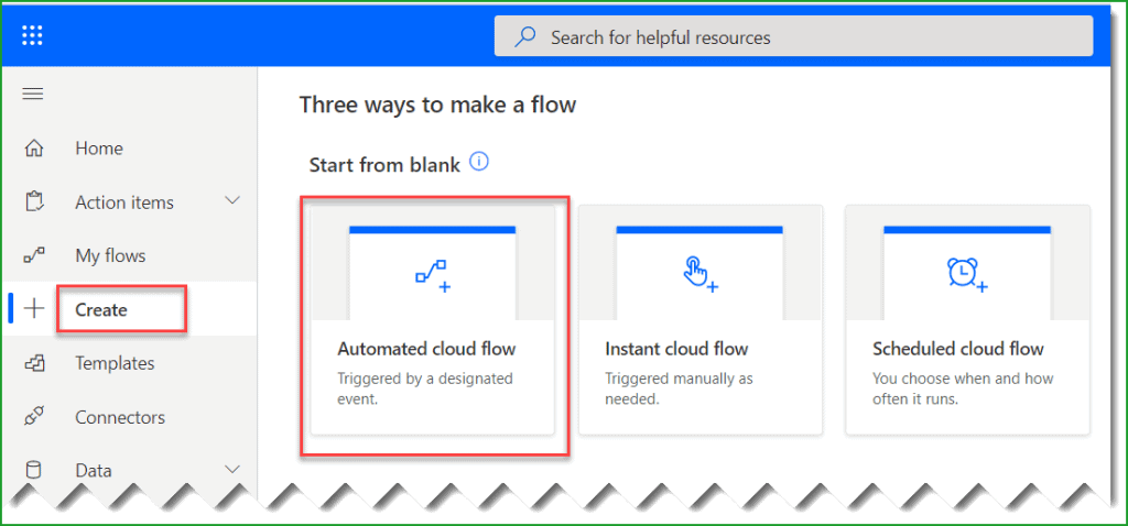 move files from onedrive to sharepoint flow