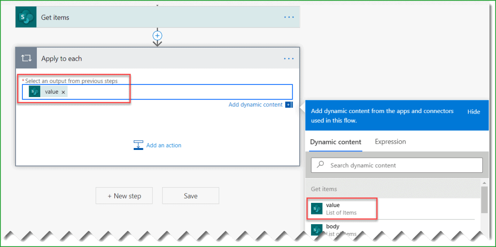power automate delete all items in sharepoint list