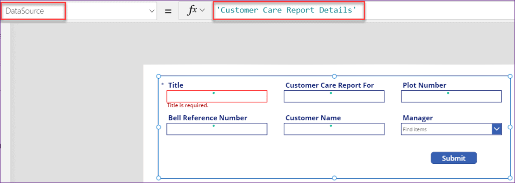 PowerApps edit form lastsubmit