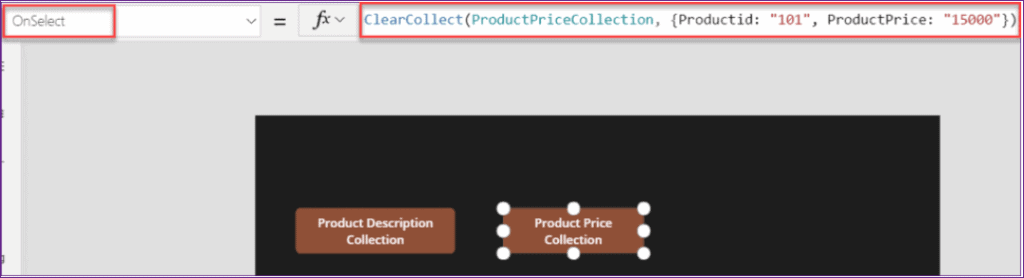 PowerApps addcolumns to collections