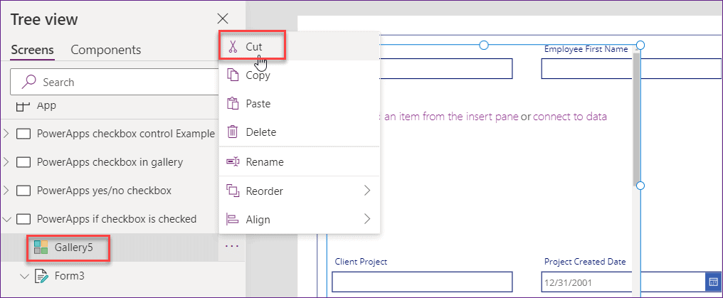 PowerApps checkbox multiple values