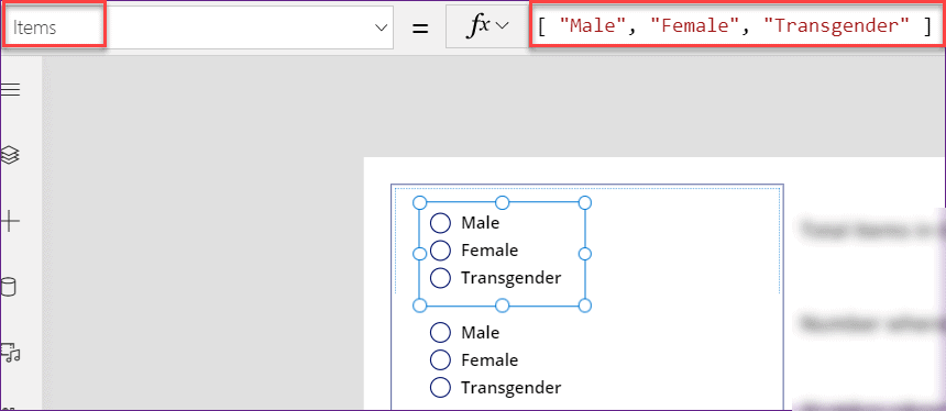 PowerApps count items in gallery