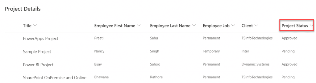 PowerApps countif sharepoint list