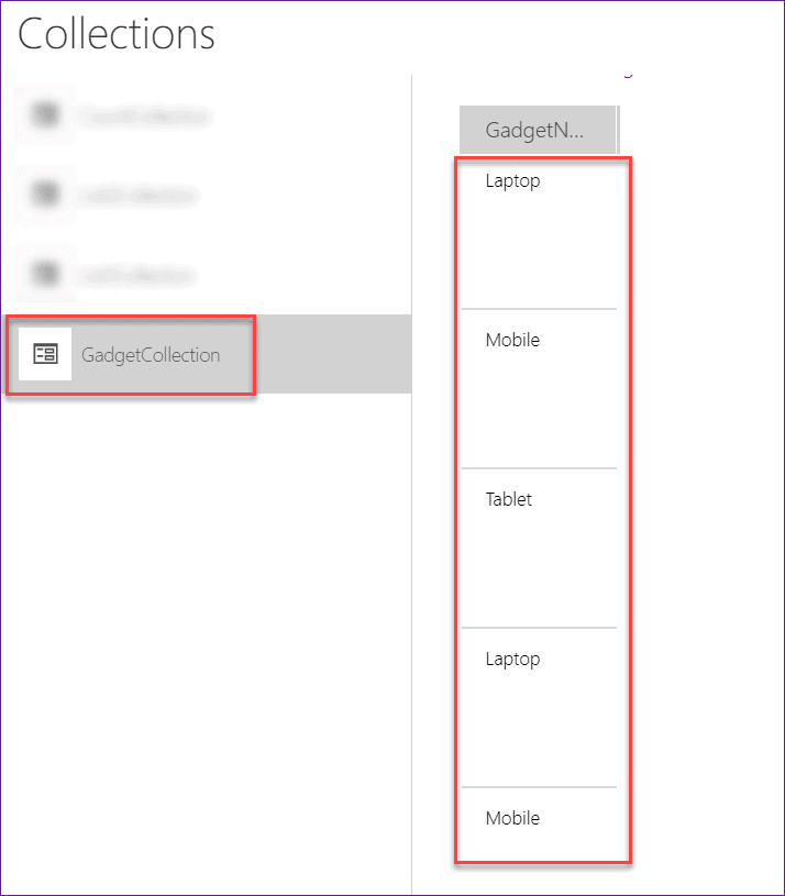 PowerApps group by count rows