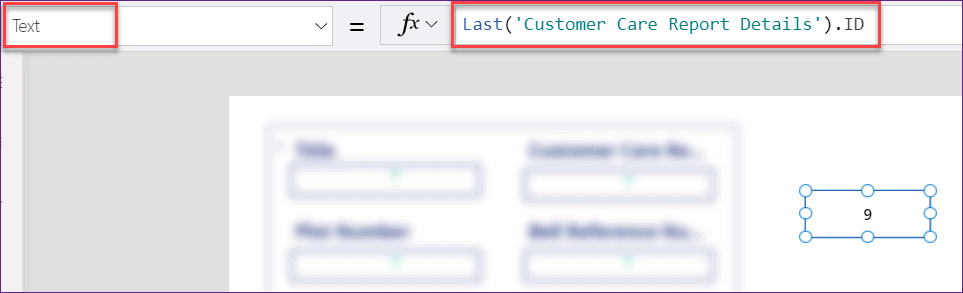 PowerApps lastsubmit item id