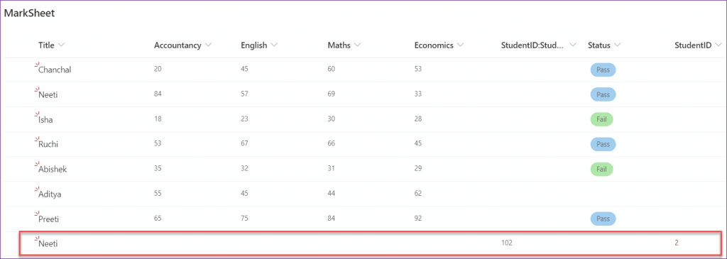 PowerApps patch function using lookup