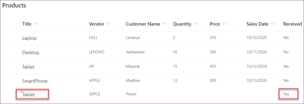 PowerApps yes no checkbox control