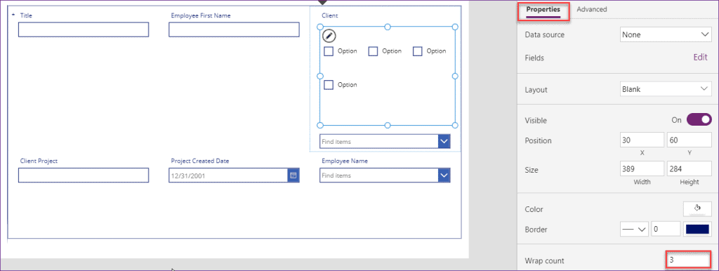 how to check multiple values in PowerApps checkbox control