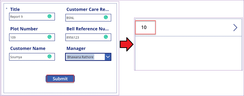 powerapps last submit function not working