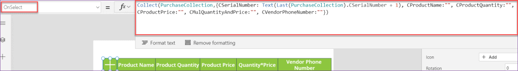 PowerApps Repeating Sections