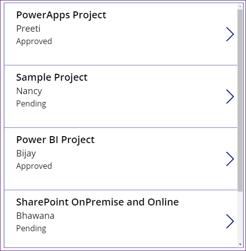 PowerApps count choices
