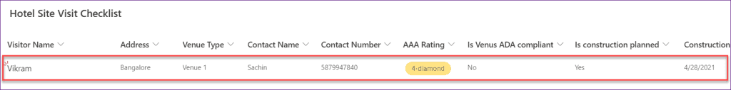 Show Hide columns based PowerApps Dropdown selections