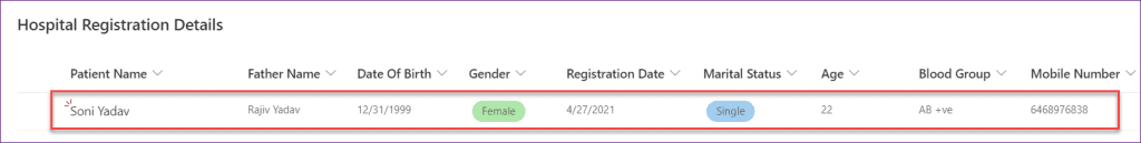 how to create PowerApps tabed form