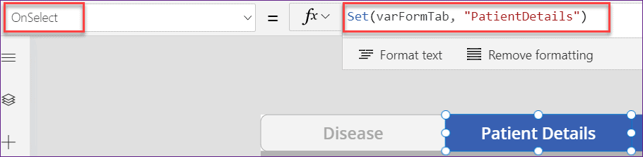 powerapps create tabbed form for sharepoint list