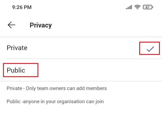 How to Create a team in Microsoft teams mobile app