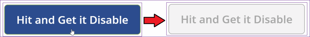 How to use PowerApps onselect disable button