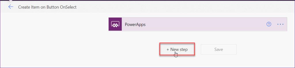 PowerApps button onselect run flows