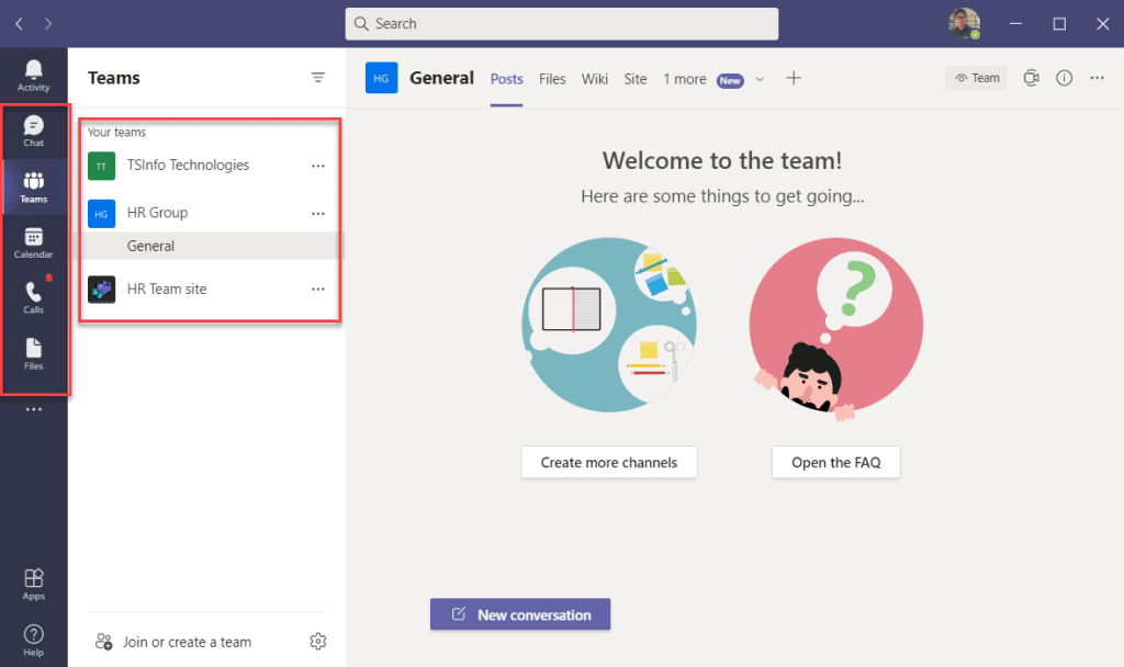 how to use microsoft teams desktop app