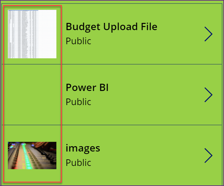 Power Apps change images based on value