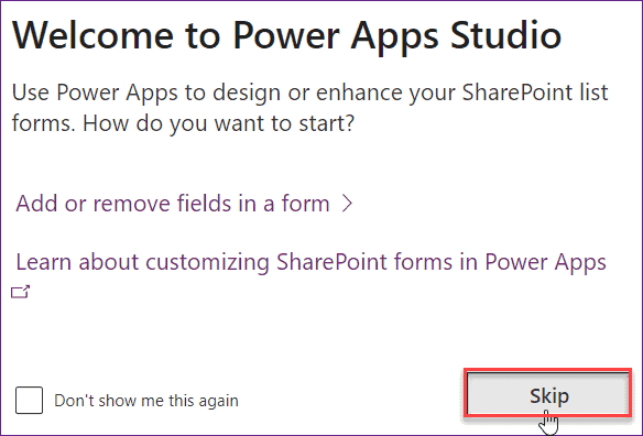 PowerApps Customize SharePoint Online List form