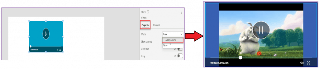 PowerApps Video Control