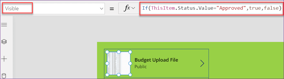 PowerApps change images based on value