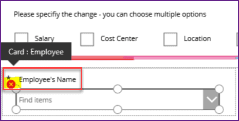 PowerApps choices error