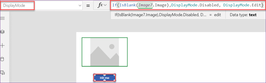 PowerApps image blank