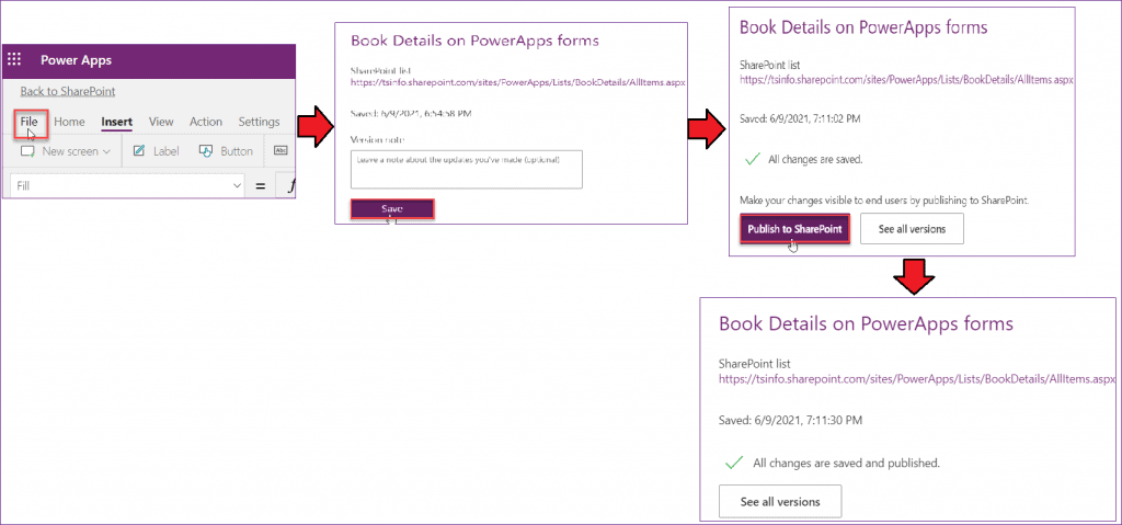 Customize SharePoint list form with PowerApps