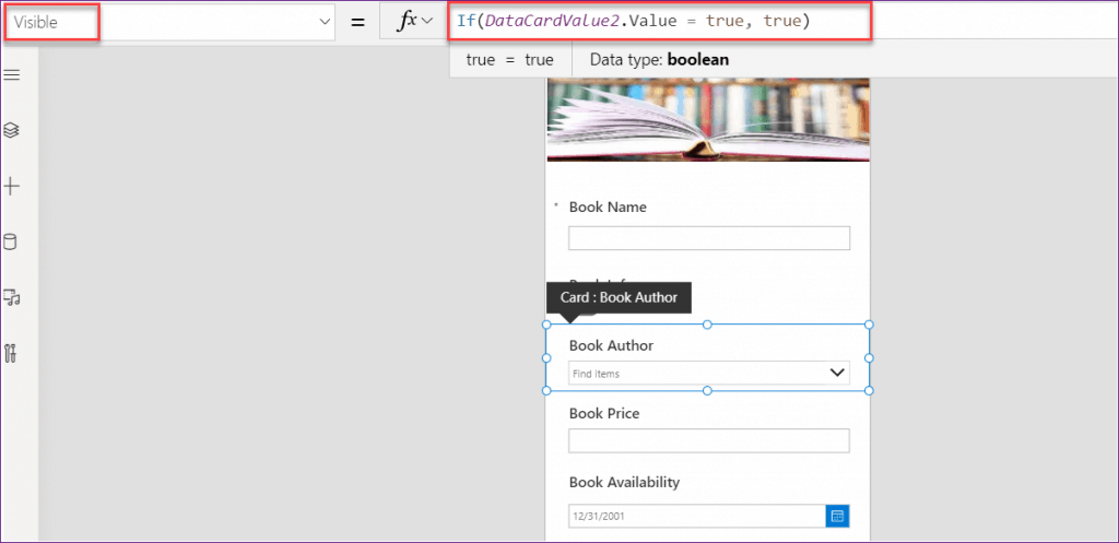Set Conditional Formatting in the PowerApps List Custom Form