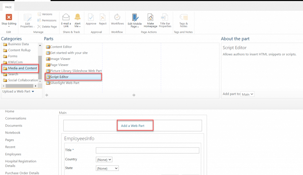 cascading dropdown in sharepoint 2013