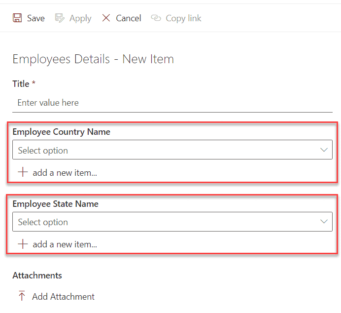 cascading lookup in sharepoint 2013