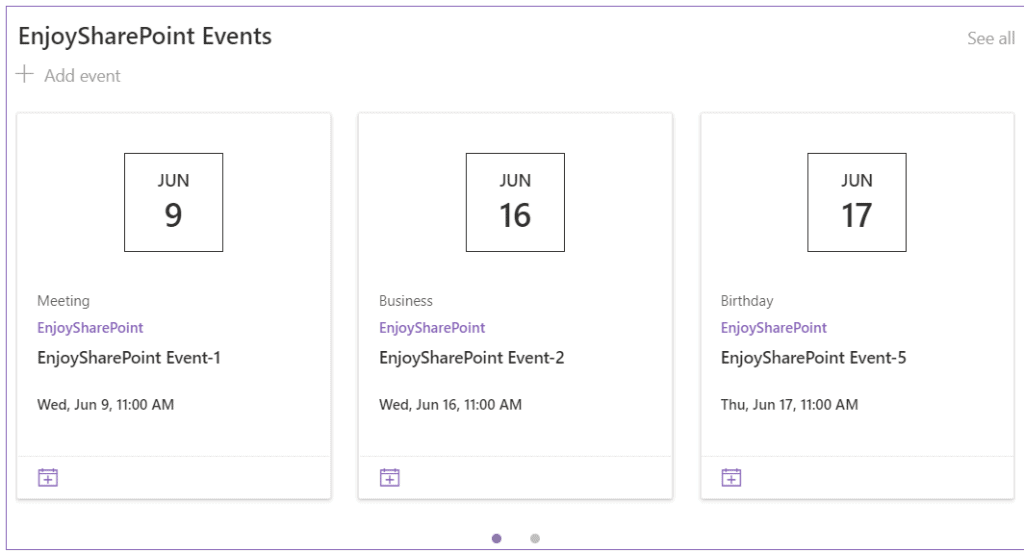 how to add calendar from another site in sharepoint