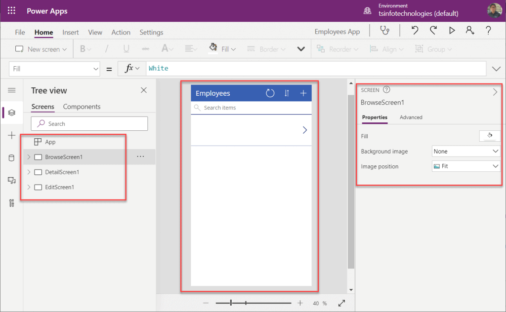 how to get started with power apps